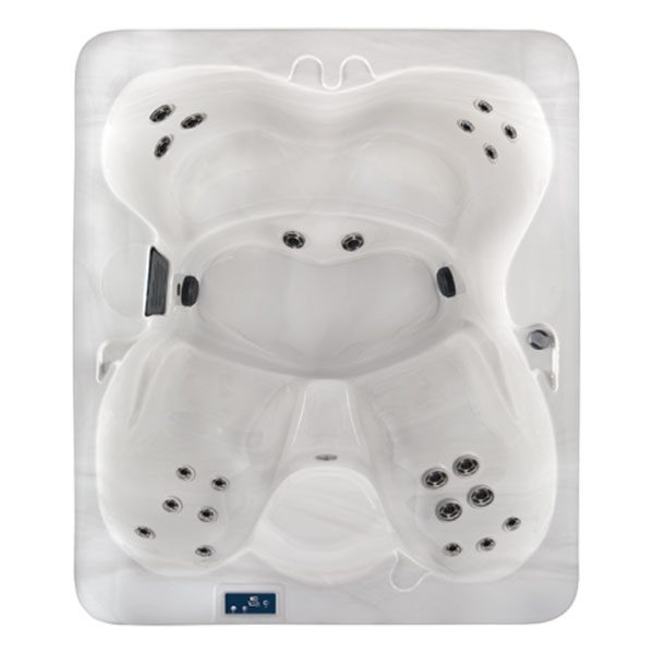 Image is a compact 4 person Family Hot Tub