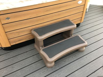 Aqua Steps Deluxe ( with Rubber Tread )