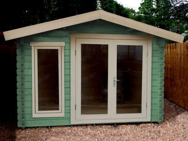 Lillevilla 122s - Log Cabin