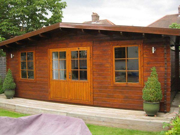 Log Cabin 129
